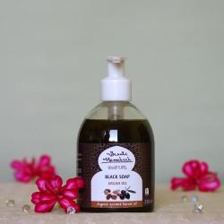 Savon Noir Czarne mydło w płynie Argan - Beaute Marrakech