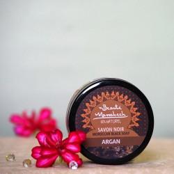 Savon Noir Czarne mydło Argan - Beauty Marrakech