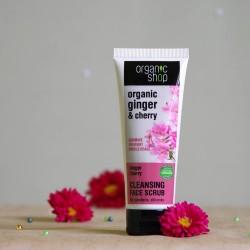 Peeling do twarzy Imbir & Wiśnia - organic shop