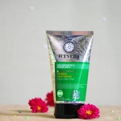 Wzmacniająca ziołowa maska do włosów - ICEVEDA