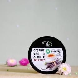 Sól do kąpieli Mleko Waniliowe - organic shop