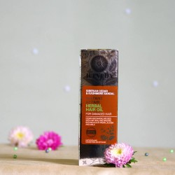 Naprawczy ziołowy olejek do włosów - ICEVEDA