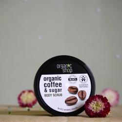 Peeling do ciała Brazylijska Kawa - organic shop