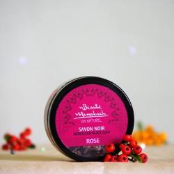 Savon Noir Czarne mydło Róża - Beaute Marrakech