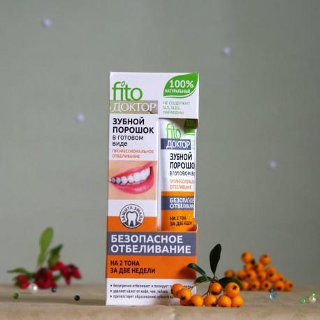 Wybielający proszek do zębów w paście - Fitokosmetik