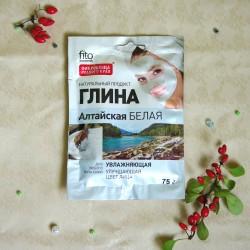 Biała glinka Ałtajska - Fitokosmetik