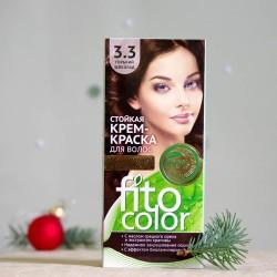 Krem farba do włosów 3.3 Gorzka Czekolada - fitocolor