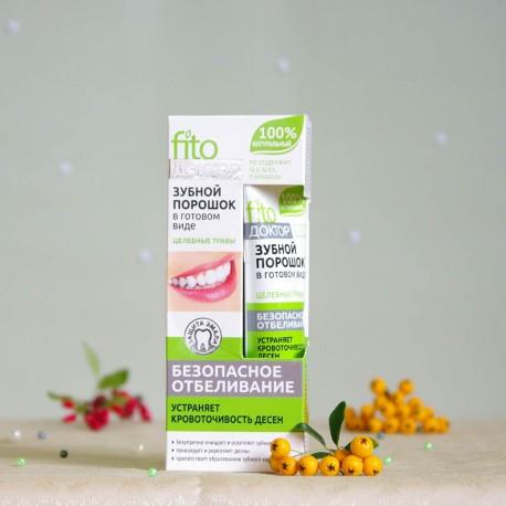Proszek do zębów Rośliny Lecznicze - Fitokosmetik