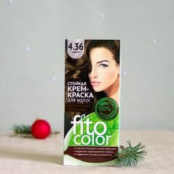 Krem farba do włosów 4.36 Mokka - fitocolor
