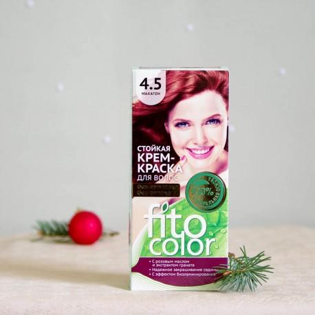 Krem farba do włosów 4.5 Mahoń - fitocolor
