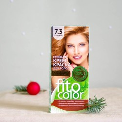 Krem farba do włosów 7.3 Karmel - fitocolor