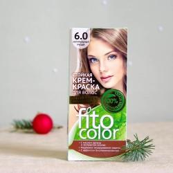 Krem farba do włosów 6.0 Naturalny Blond - fitocolor