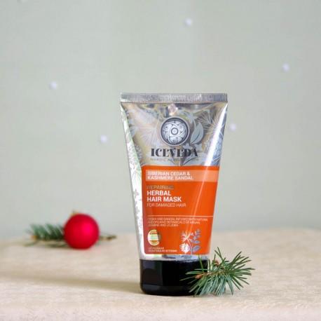 Naprawcza ziołowa maska do włosów - ICEVEDA