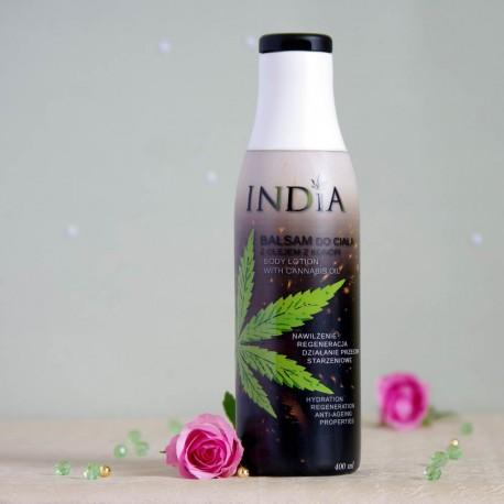 Balsam do ciała z olejem z konopi - INDIA