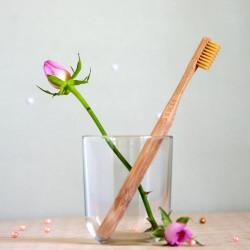 Naturalna bambusowa szczoteczka do zębów średnia - mohani