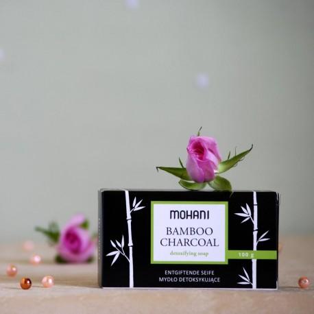 Detoksykujące mydło z Węglem Bambusowym - mohani