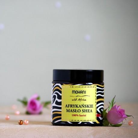 Afrykańskie masło shea - mohani
