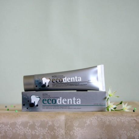 Odświeżająca pasta do zębów kwas hialuronowy i olejek miętowy - ecodenta