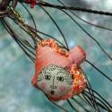 Jedwabny brelok - ryba Madama Butterfly
