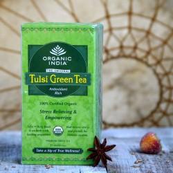Tulsi zielona herbata organiczna