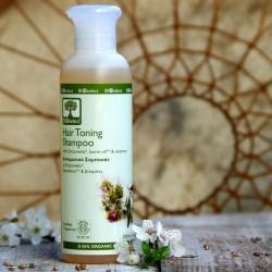 Tonizujący szampon do włosów wypadajacych BIOselect
