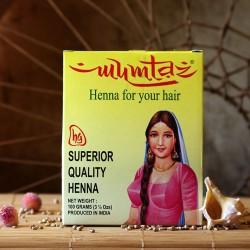 Naturalna henna do farbowania włosów Mumtaz