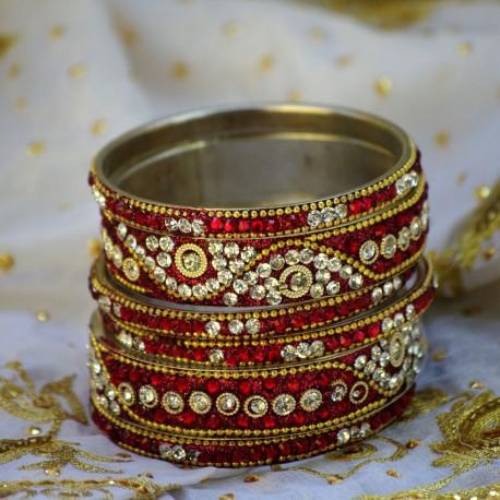 Komplet bransoletek indyjskich