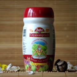 Chyawanprash pasta z 49 ziół Dabur 500 g.