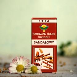 Eteryczny olejek Sandałowy Etja 10 ml.
