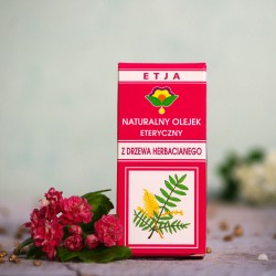 Eteryczny olejek Drzewo Herbaciane Etja 10 ml.