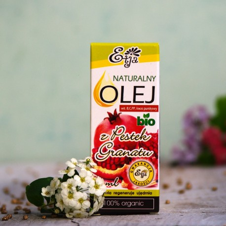 Olej z Pestek Granatu BIO