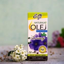 Olej Lniany BIO Etja 50 ml.