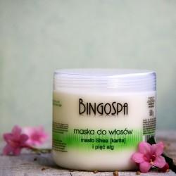 Maska do włosów masło shea i algi - BingoSpa