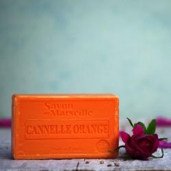 Mydło marsylskie cynamon i pomarańcze Le Chatelard