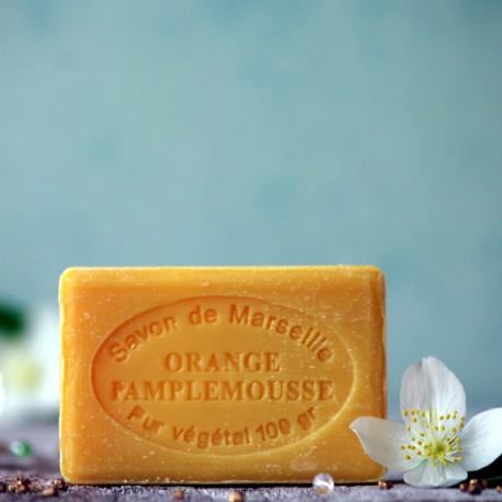 Marsylskie mydło - Pomarańcze i Grejpfruty