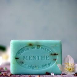 Marsylskie mydło - Listki Mięty Le Chatelard